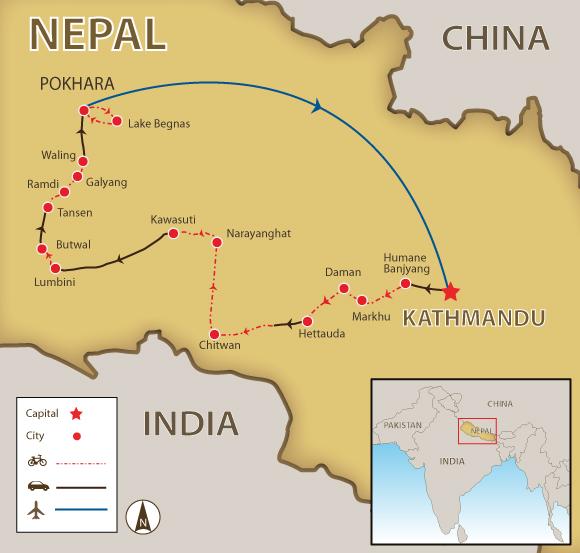 chitwan-map