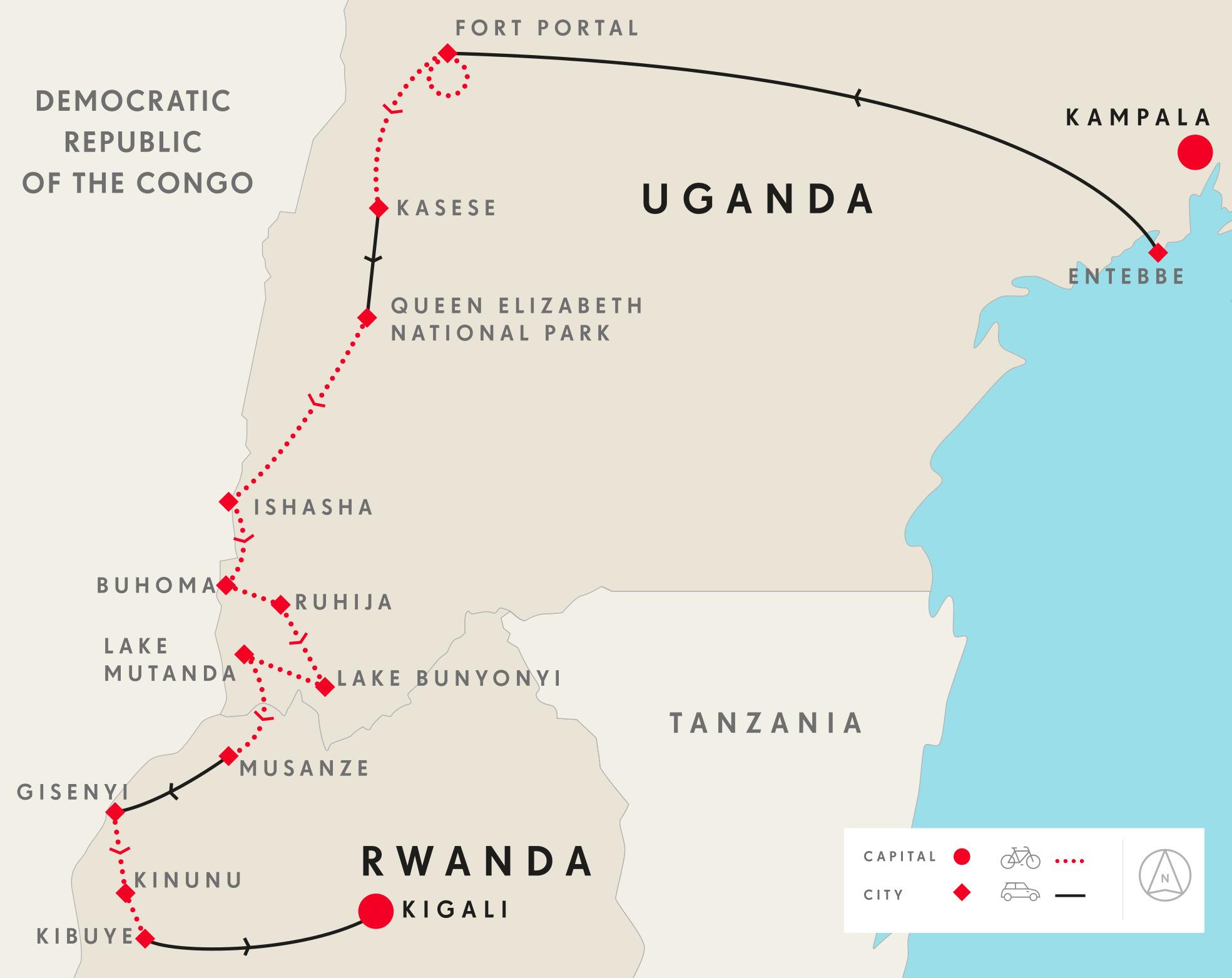 uganda_rwanda_cycling_tour-map-1